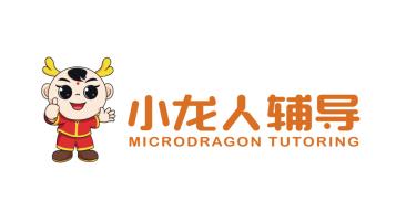 小龍人輔導品牌LOGO設計