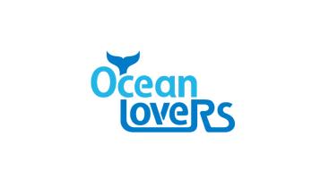 Ocean Lovers 海洋愛好者品牌LOGO設計
