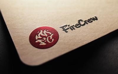 firecrew街舞工作室VIS品牌形...