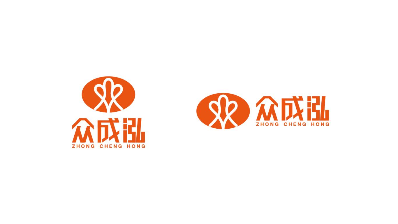 众成泓威客平台LOGO设计中标图1