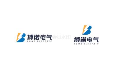 博诺电气logo设计