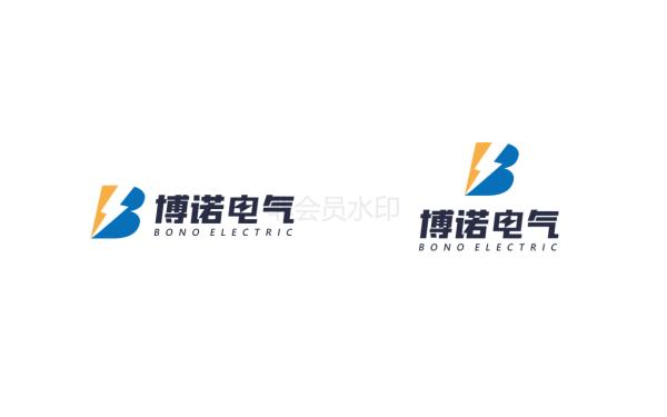 博諾電氣logo設計