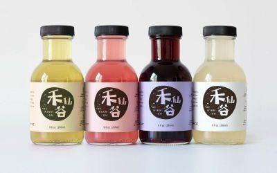 禾仙谷果酒品牌LOGO设计