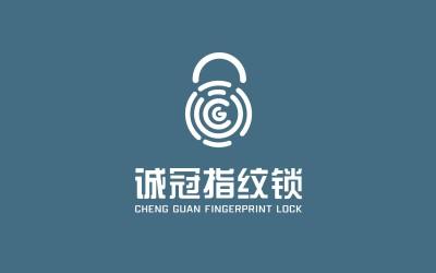 |LOGO设计|诚冠指纹锁