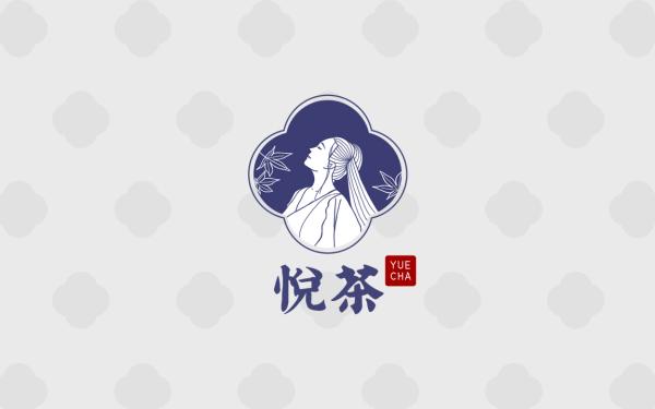 古风人物logo设计