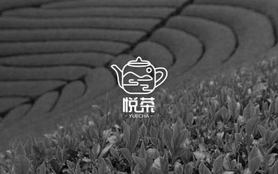 悦茶茶艺品牌logo设计