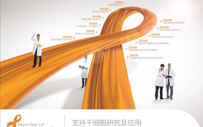 紅絲帶干細胞研究機構vi設計
