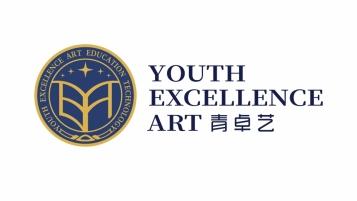 青卓艺艺术教育机构LOGO设计