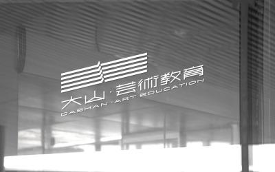 大山艺术教育品牌视觉设计