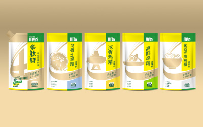 味精调料食品包装设计