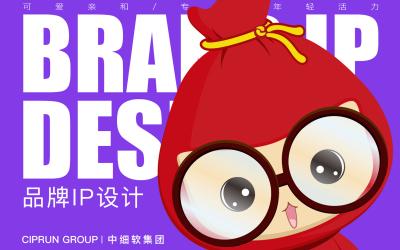 中细软集团 知识产权服务平台 吉祥物设...