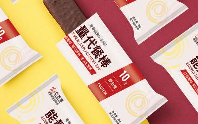 蛋白能量代餐棒包装