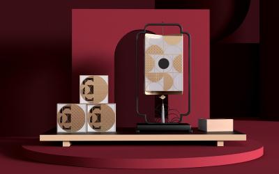 中秋月饼礼盒创意设计