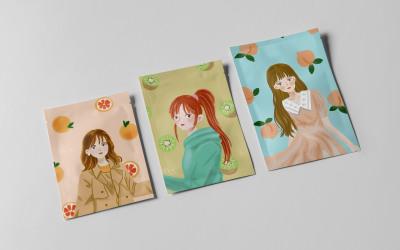 鲜果农庄水果茶包装设计