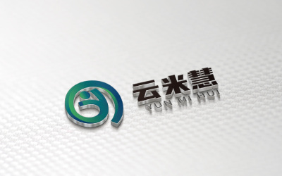 云米慧食品公司LOGO创意绘制