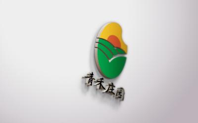 青禾庄园logo乐天堂fun88备用网站及吉祥物设...