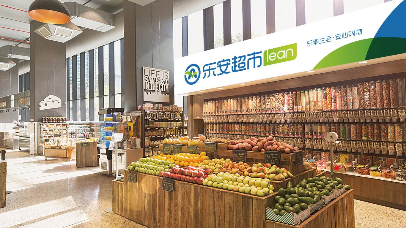 乐安连锁超市LOGO乐天堂fun88备用网站中标图8