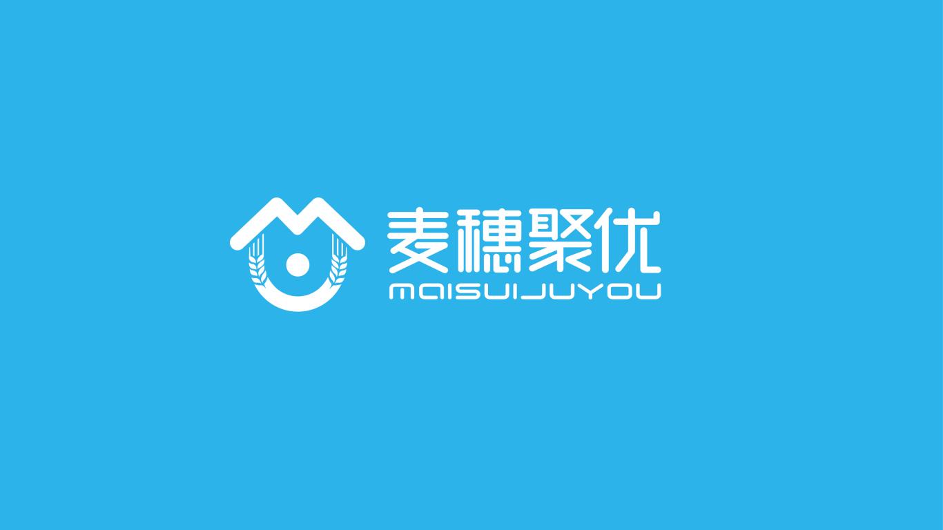 麦穗聚优家政服务品牌LOGO必赢体育官方app中标图0