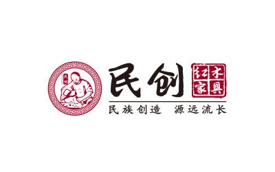 民创红木家具品牌logo设计