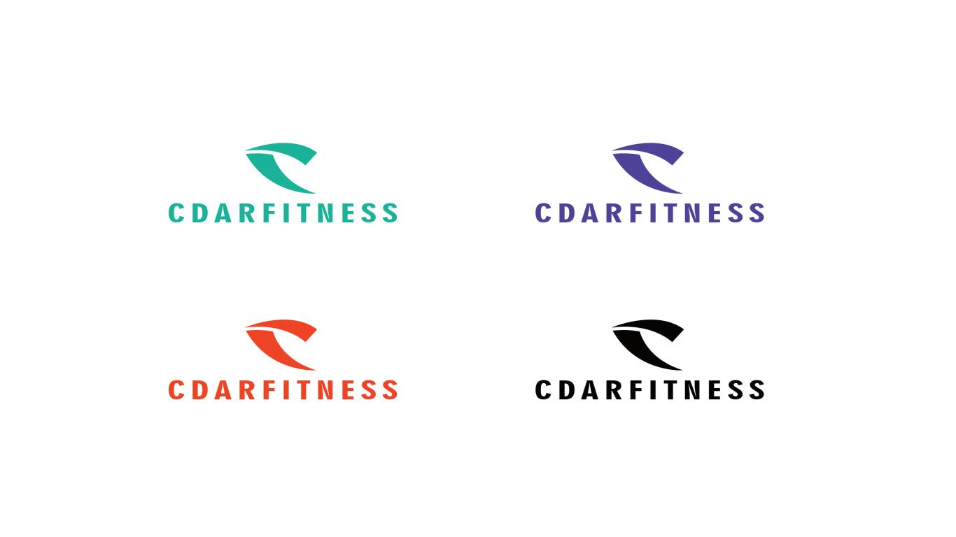 cdarfitness服饰品牌LOGO必赢体育官方app中标图1