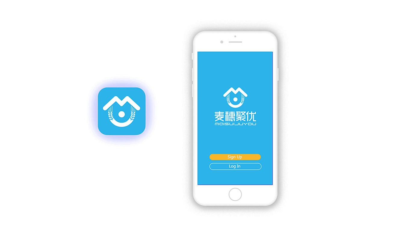 麦穗聚优家政服务品牌LOGO必赢体育官方app中标图8