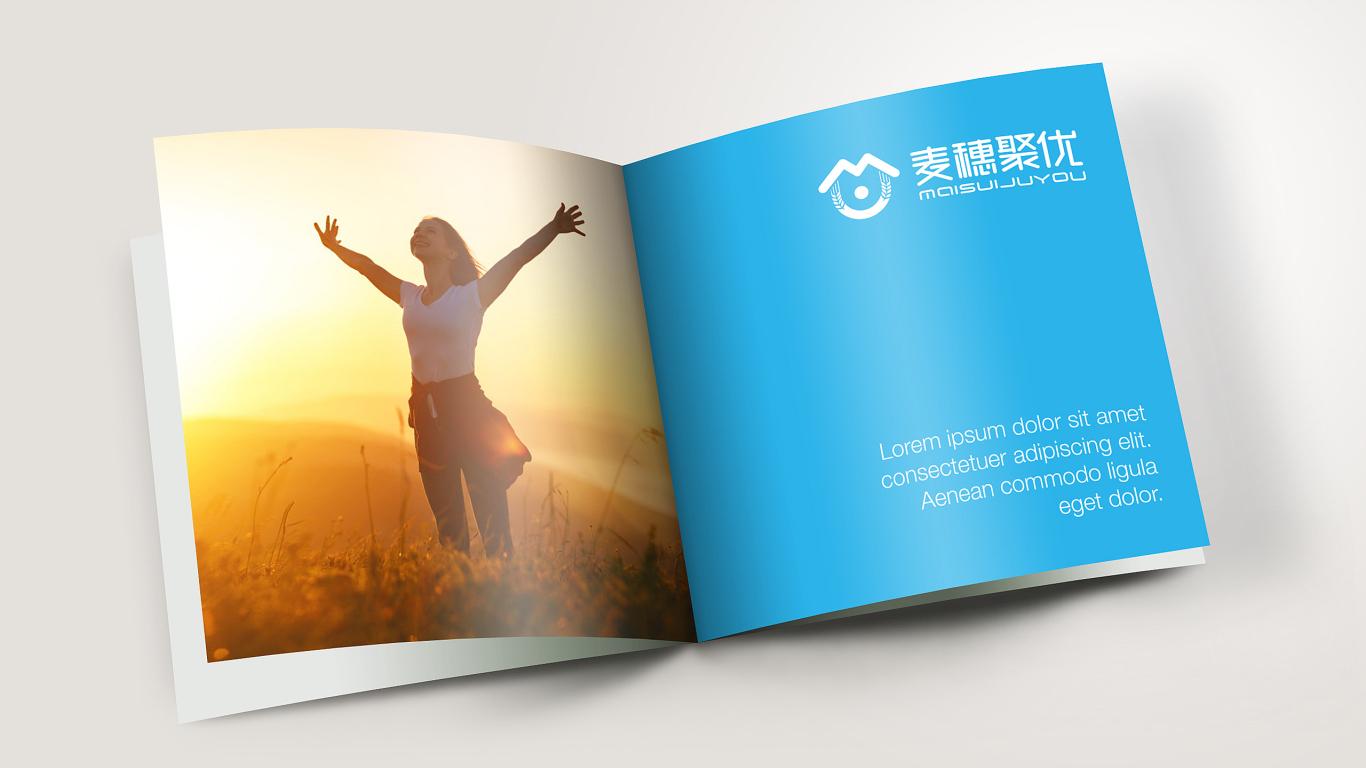 麦穗聚优家政服务品牌LOGO必赢体育官方app中标图6