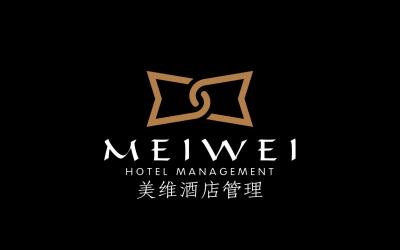 美维酒店品牌管理logo项目设...