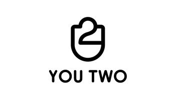 YOU TWO潮流包包品牌LOGO设计