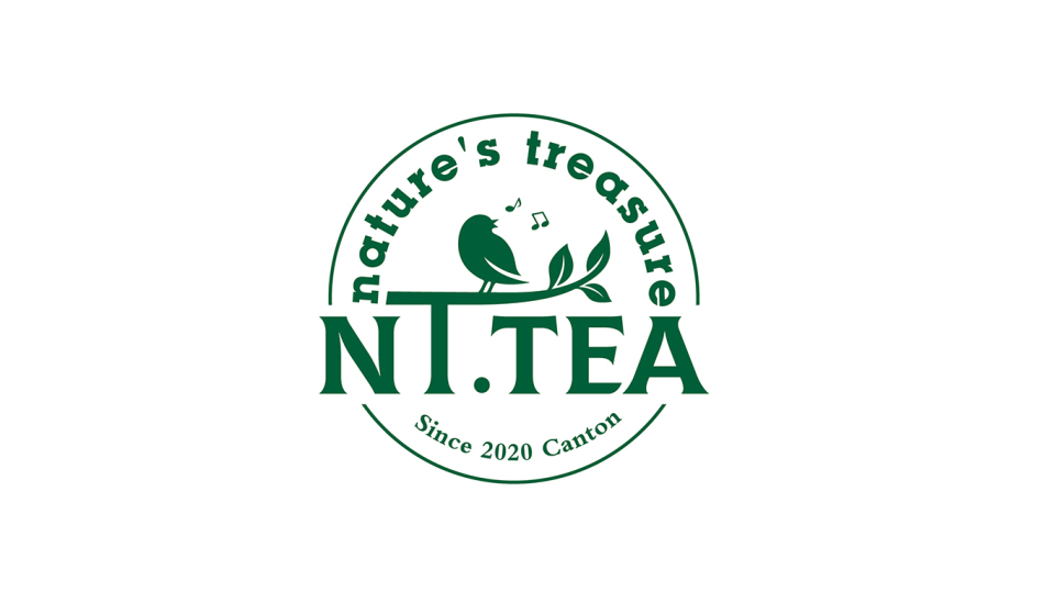 NT TEA茶叶品牌LOGO设计