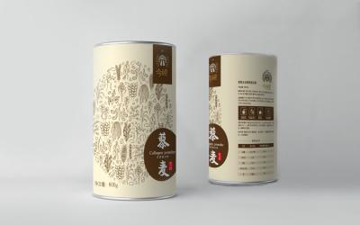藜麦养生代餐粉包装设计