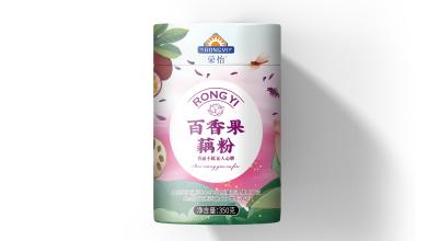 榮怡百香果藕粉包裝設計