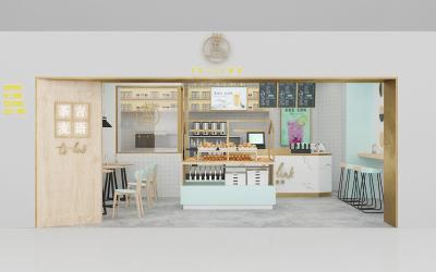 茶言麦语SI店面空间设计