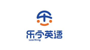 乐宁英语教育品牌LOGO设计