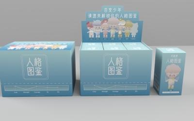 不趣集x人格图鉴玩具手办包装盒...