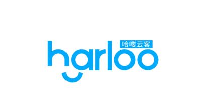 哈喽云客品牌LOGO设计