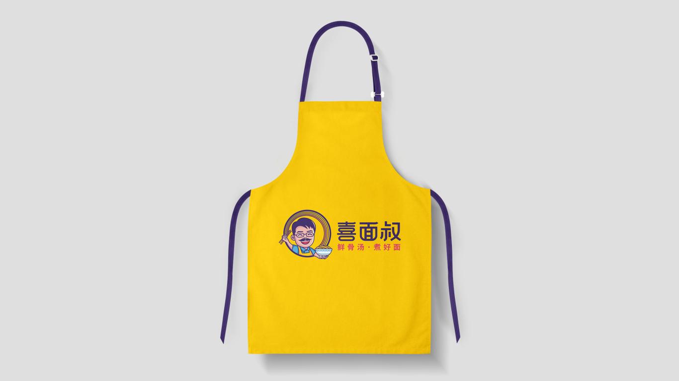 喜面叔餐饮品牌LOGO设计中标图7
