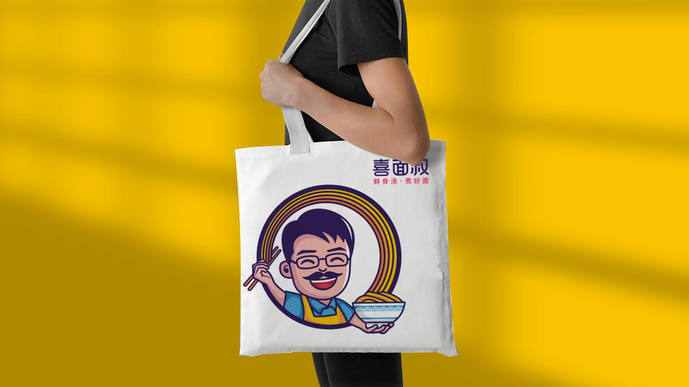 喜面叔餐饮品牌LOGO设计中标图6
