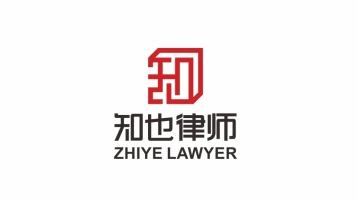 知也律师事务所LOGO设计