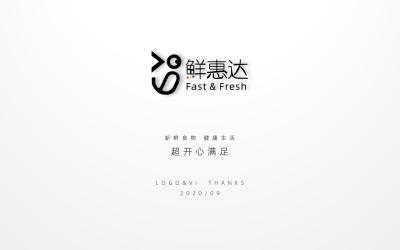 长沙鲜惠达生鲜超市LOGO