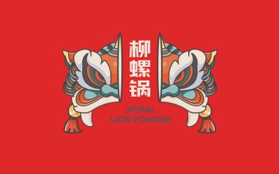 螺狮粉logo设计
