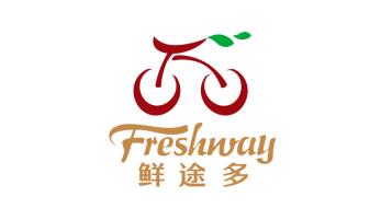 Freshway鲜途多生鲜品牌LOGO设计