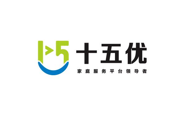 十五优家庭服务平台logo设计