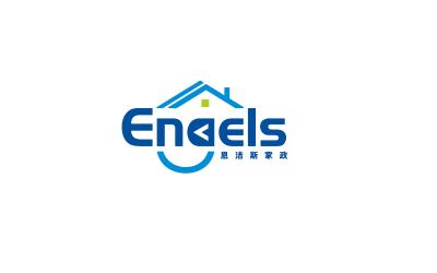 恩洁斯家政logo设计