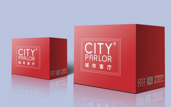 城市客厅纺织品包装礼盒