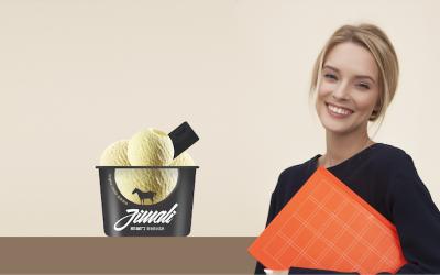 jimali 冰淇凌包裝設計