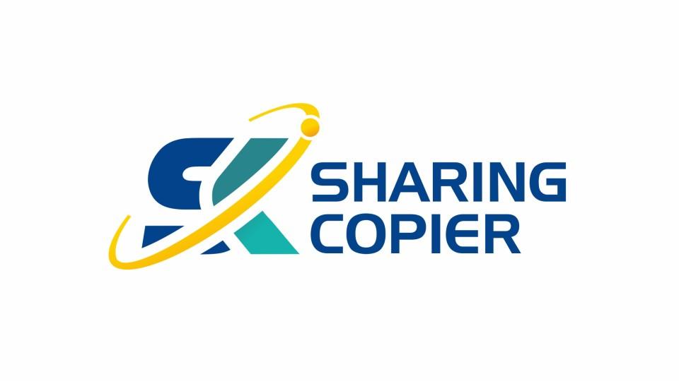 SHARINGCOPIER科技品牌LOGO设计