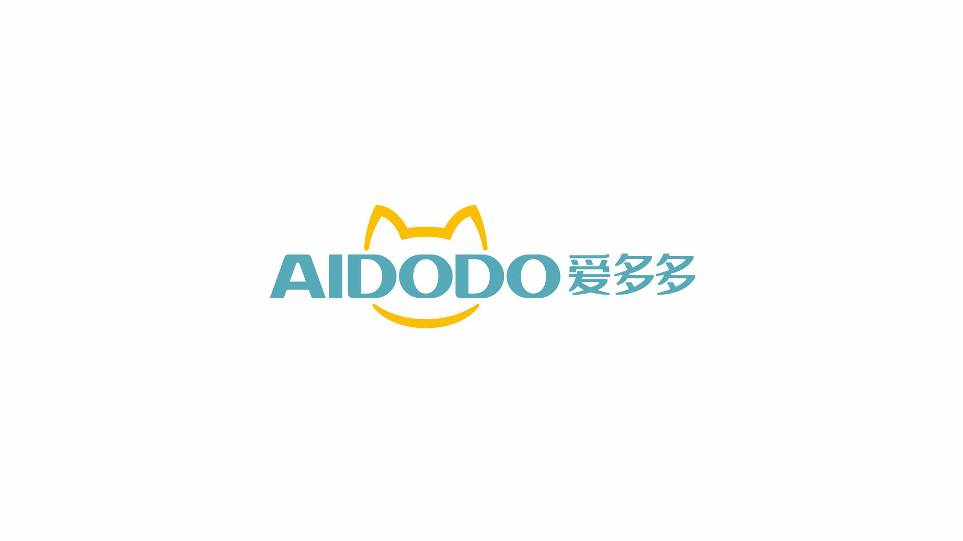 爱多多宠物食品品牌LOGO设计