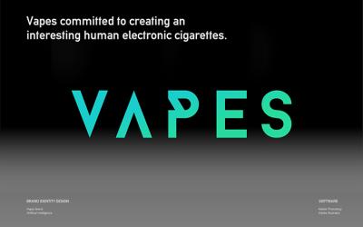 VAPES时尚电子烟器Si设计