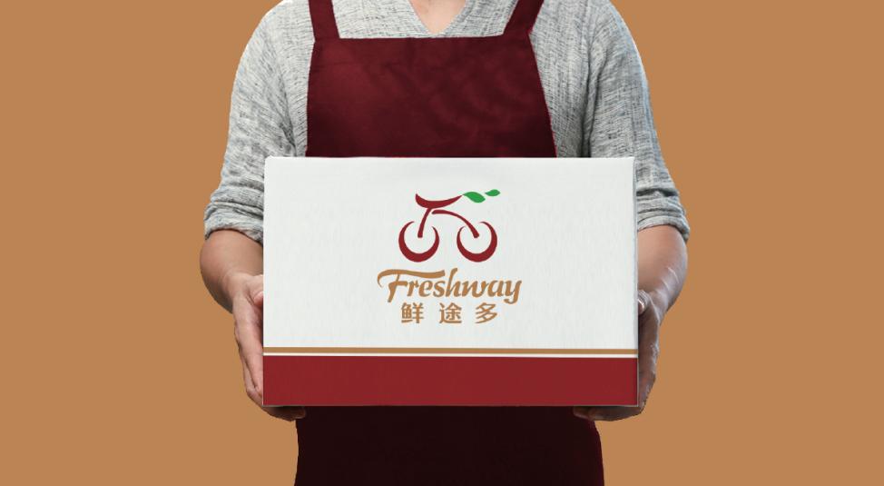 Freshway鲜途多生鲜品牌LOGO设计中标图2