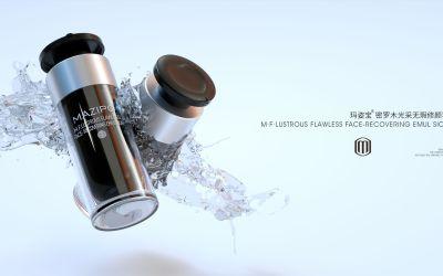 C4D化妆品设计